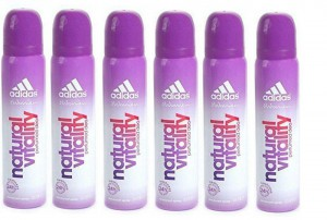 Adidas Natural Vitality Women Deo 90 Ml