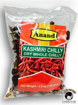 Dry Whole Chillies 100 G
