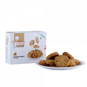 Atul Almond Crunch Cookies 200 Gm
