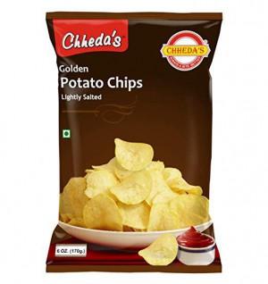 Chhedas Golden Potato Chips 170G