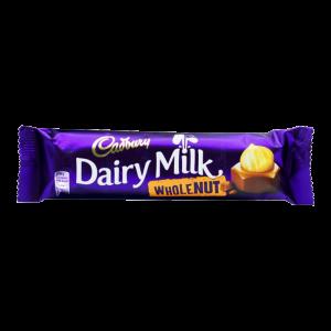 Cadbury Dairy Milk Whole Nut45 Gm
