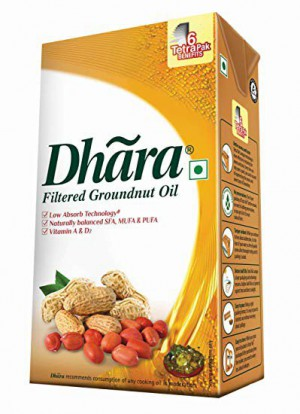 Dhara Groundnut Oil 1Ltr
