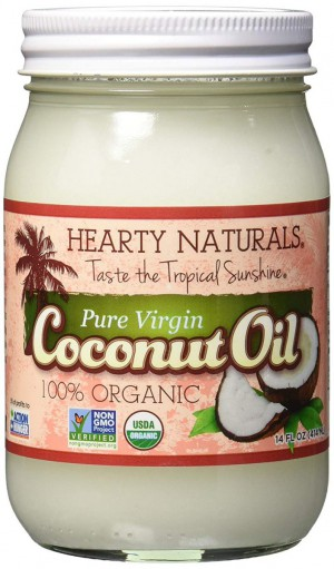 Hearty Naturals Pure Virgin Coconut Oil 14 Oz