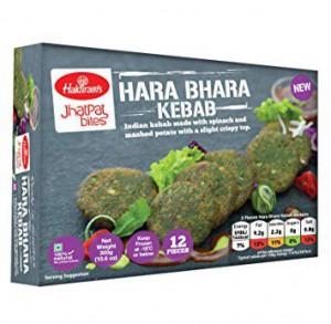 Jhatpat Bites Hara Bhara Kabab 12Pcs