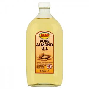 K T C Puri Almond Oil 500 Ml