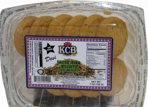 Kcb Salted Jeeera Biscuits 7 Oz