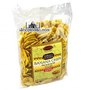 Kerala Golden Banana Chips 23Oz