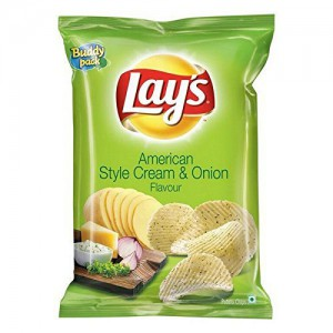 Lays American Style Cream Onion Flavour 52 G