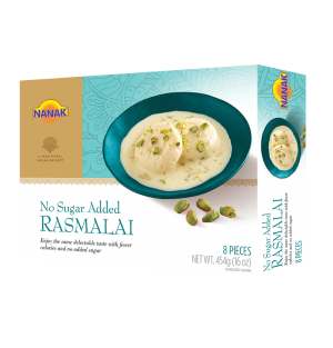 Nanak No Added Sugar Rasmalai 8P