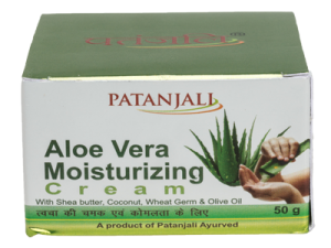 Patanjali Aloe Vera Moisturizing Cream 50 Gm