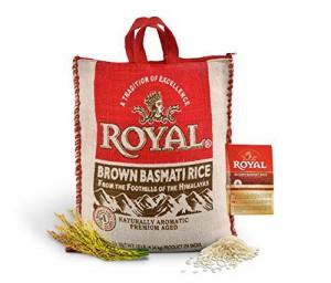 Royal Brown Basmati Rice 10 L.B