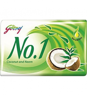 Godrej No.1 Coconut Neem Soap 115 Gm