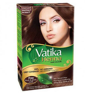 Vatika Henna Natural Brown 60 Gm
