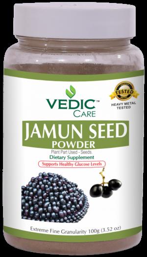 Vedic Jamun Seed Powder 100G