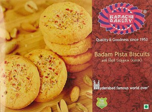 Karachi Bakery Badam Biscuits 400Gm
