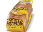 natures own butter bread 567grms